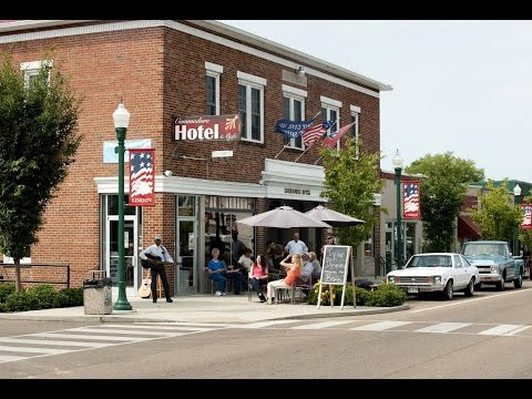 Southern Accents Travel Show features Commodore Hotel Linden