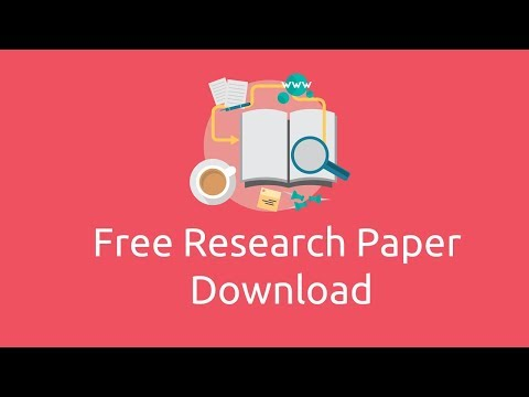 How to download paid Research papers and journals for free f