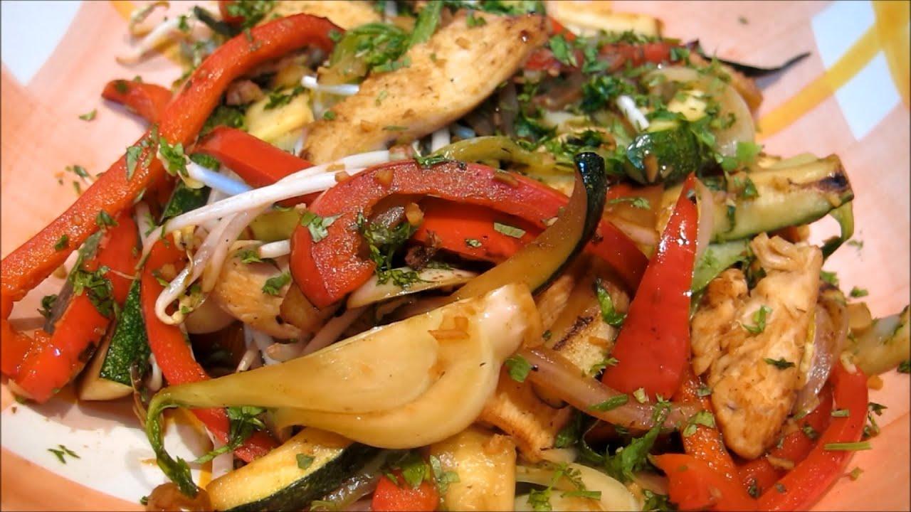 como hacer wok de vegetales