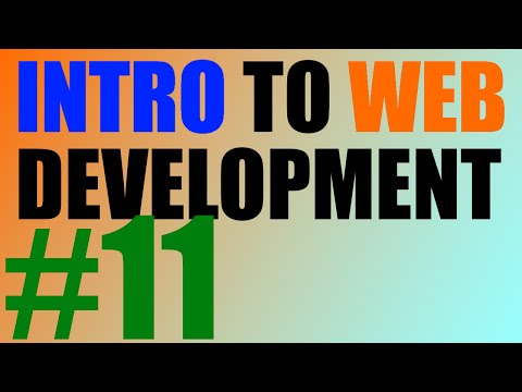 Intro To Web Development - 11 - Div And Span