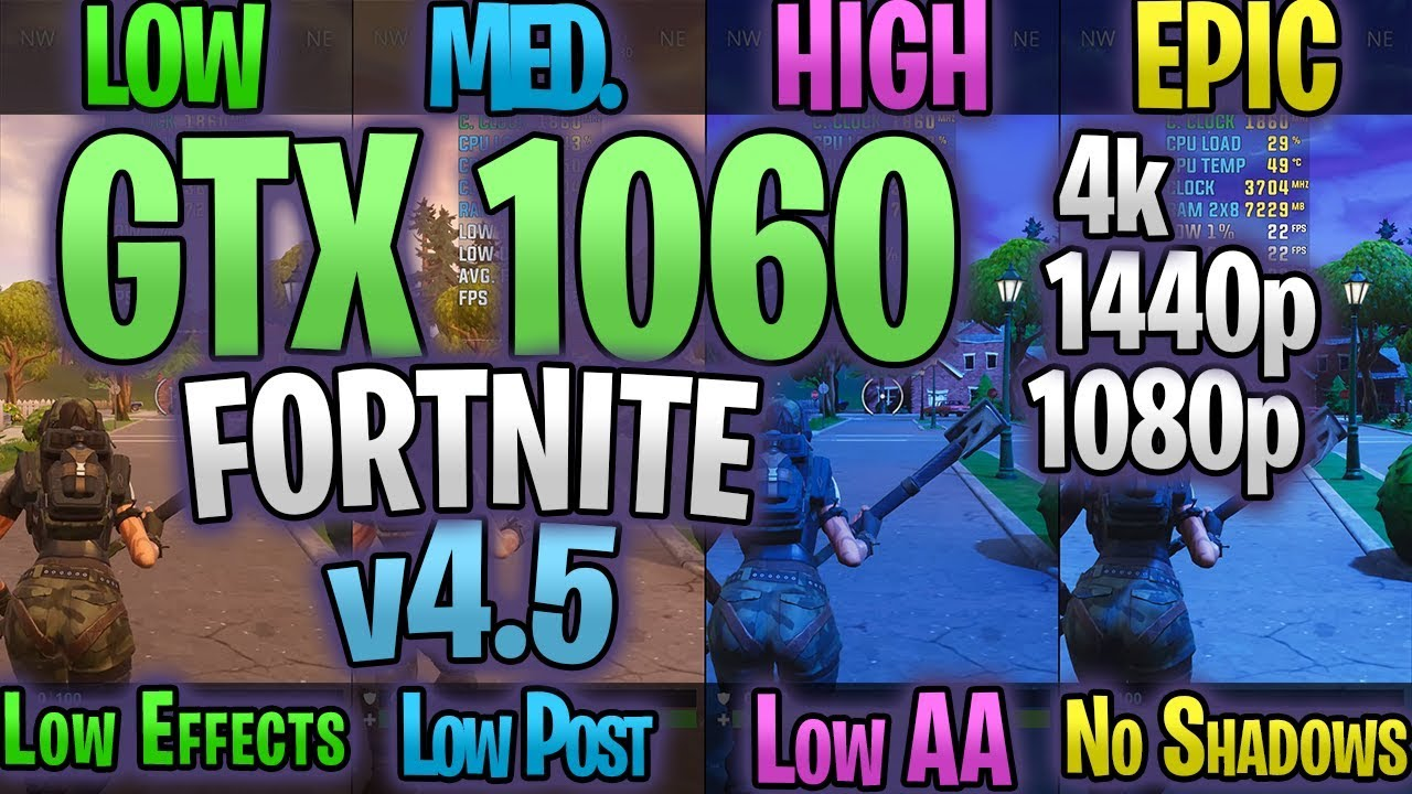 Effects On Low Setting Vs Effects On High Fortnitecompetitive