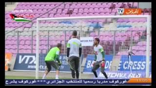 المنتخب الوطني يدخل في تربص مغلق إستعدادا لمواجهة أثيوبيا في تصفيات كأس أمم أفريقيا 2015