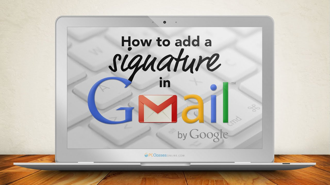 outlook how to add a signature