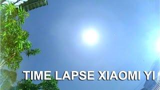 Time Lapse Xiaomi Yi Malam Hari