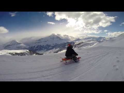 Grindelwald Schlittelbahn - Big Pintenfritz - Longest Sledding / Sledging Run in the World