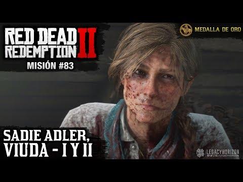 red-dead-redemption-2---misión-#83---sadie-adler,-viuda-i-y-ii-(medalla-de-oro)