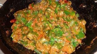 Kadai Bhindi Or Okra Or Bhendi North Indian Recipe