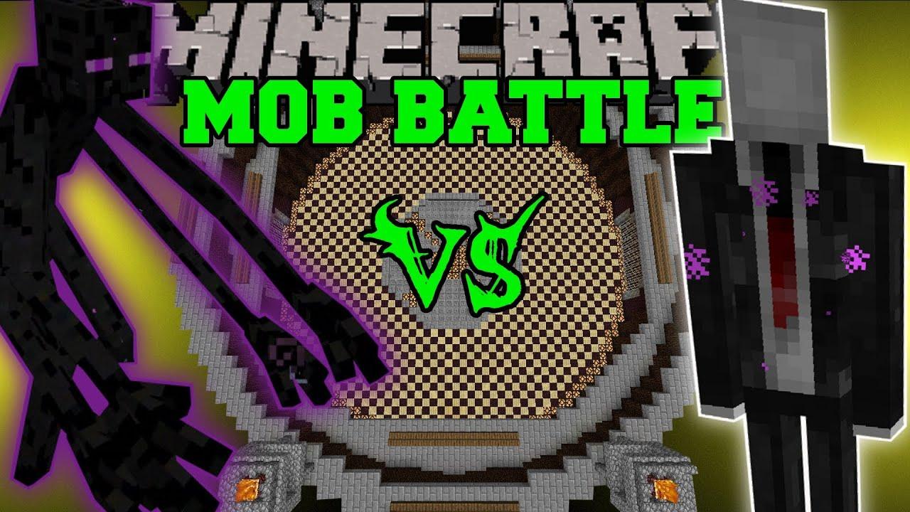 slenderman vs mutant enderman amp enderman minecraft mob