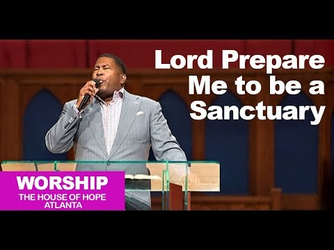 Dr. E. Dewey Smith singing Lord Prepare Me To Be A Sanctuary