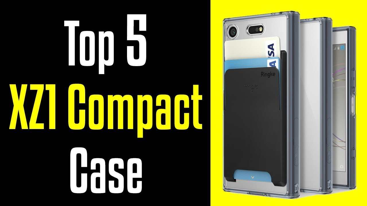 top 5 best sony xperia xz1 compact cases 4k youtube