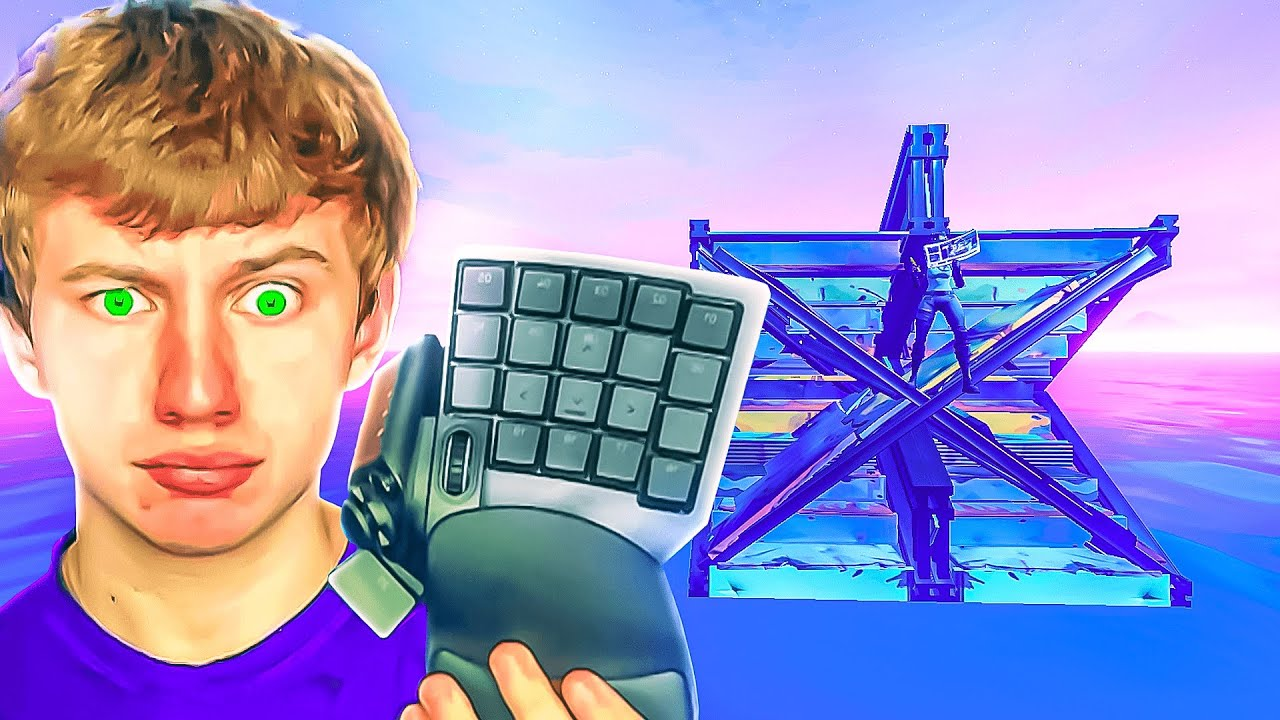 I Tried the Weirdest Keyboard Ever... (Impossible)