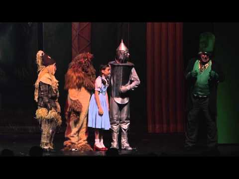 Wizard of Oz Center Stage Production 2014