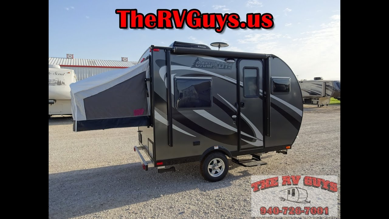 Family Sedan Towable Super Lite Travel Trailer Trailer - 2016 Camp Lite 11FK