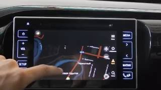 Navitouch HILUX 2016