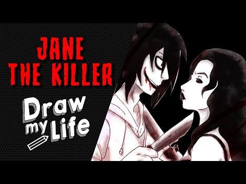 JANE THE KILLER 🔪 DRAW MY LIFE / CREEPYPASTA