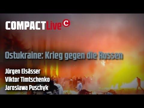 Ostukraine: Krieg gegen die Russen - COMPACT Live mit V. Timtschenko und Jürgen Elsässer