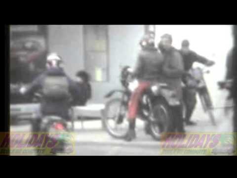 Nevers place Carnot 1980, Moto école Holidays archives Thierry Chapeau (remix)