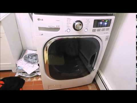 Wm3570 lg washer and dryer bad installation by home depot for Depot bad