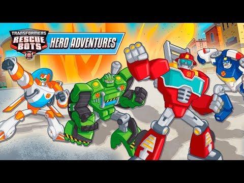 Transformers Rescue Bots Aventuras Heroicas en Español para Niños - Videos Infantiles