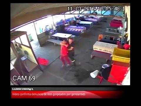 Video revela la golpiza de gendarmes a internos en Chillán