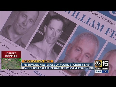 FBI Reveals New Images Of Fugitive Robert Fisher