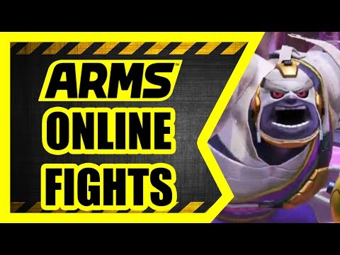 ARMS - Nintendo Switch [Online Battles]