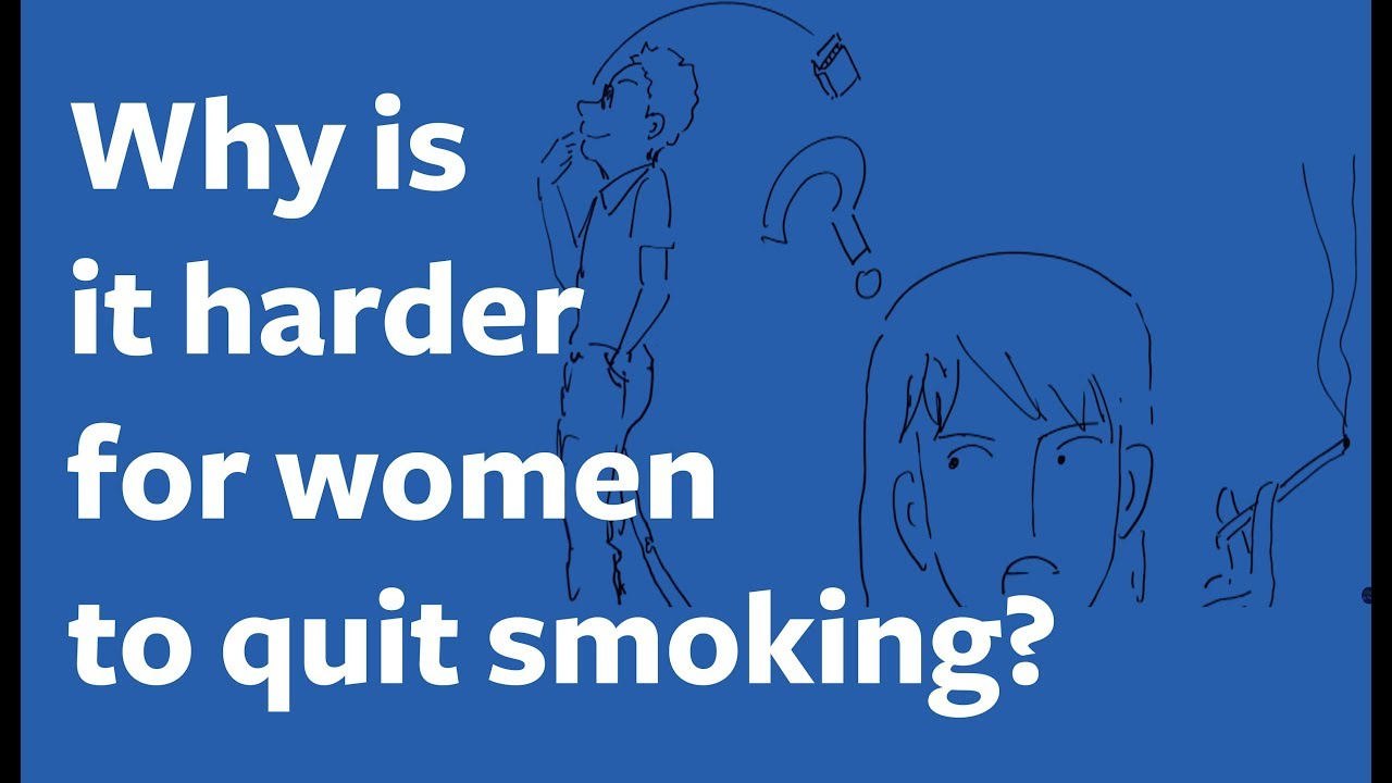 Why is it Harder for Women to Quit Smoking? Draw an Informed Conclusion
