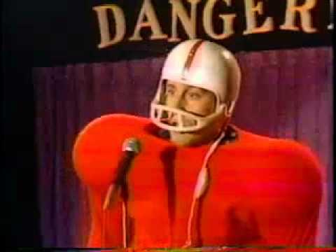 Bob Nelsons Hilarious Football Routine