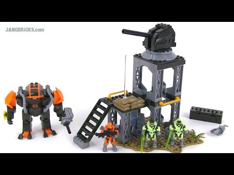 Mega Bloks Halo 97515 Containment Outpost Patrol Set