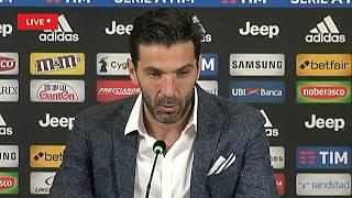 Gigi Buffon dice addio alla Juventus