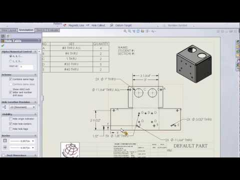 SolidWorks - Interactive Game Box: Sheet Metal Drawing: Part III
