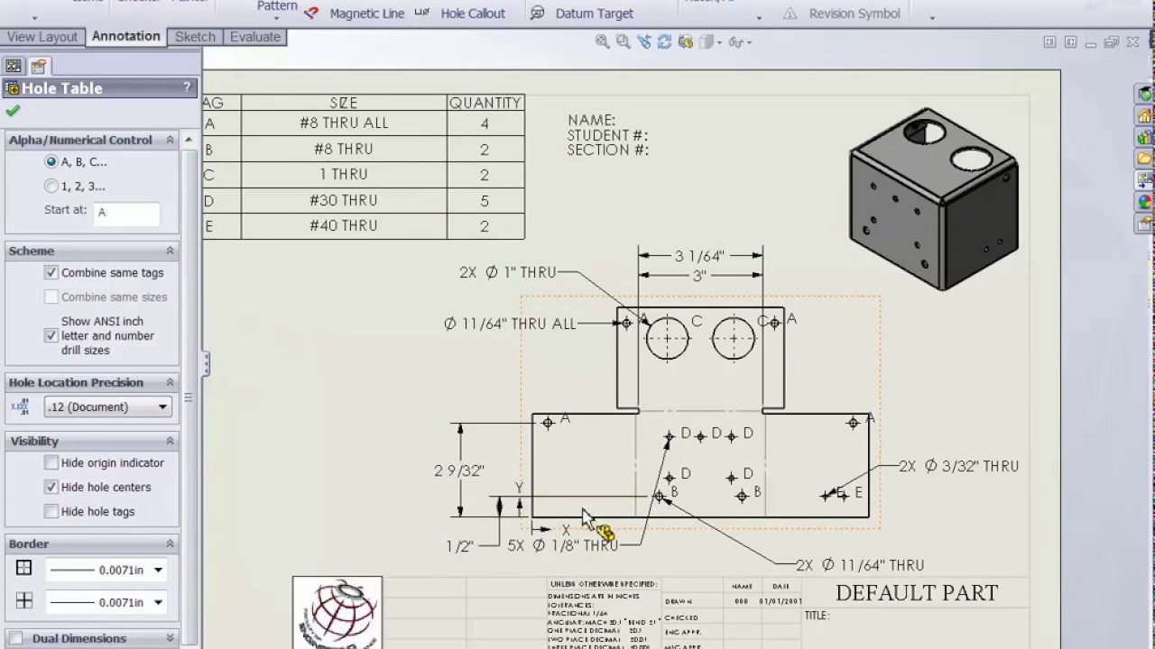 Solidworks Interactive Game Box Sheet Metal Drawing