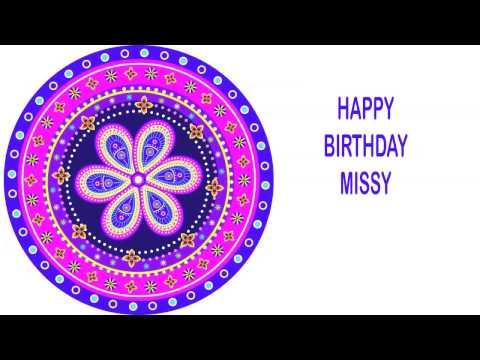 Missy   Indian Designs - Happy Birthday