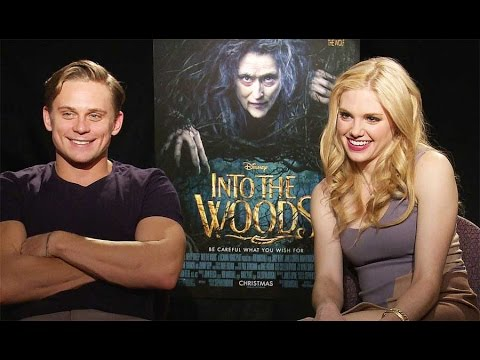 INTO THE WOOD Stars Talk Wall-E and Pocahontas, and All Things Disney