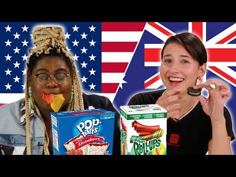 Americans & Australians Swap Snacks Part 2