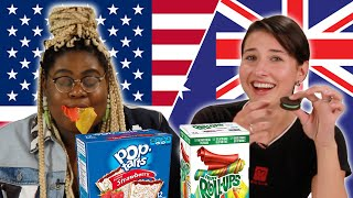 Americans & Australians Swap Snacks Part 2