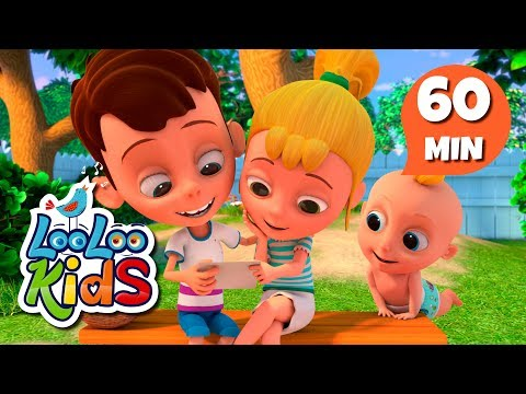 Cantec nou: A-Tisket, A-Tasket - Educational Songs for Children | LooLoo Kids