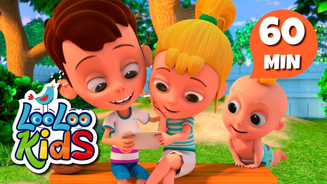 A-Tisket, A-Tasket - Educational Songs for Children   LooLoo Kids