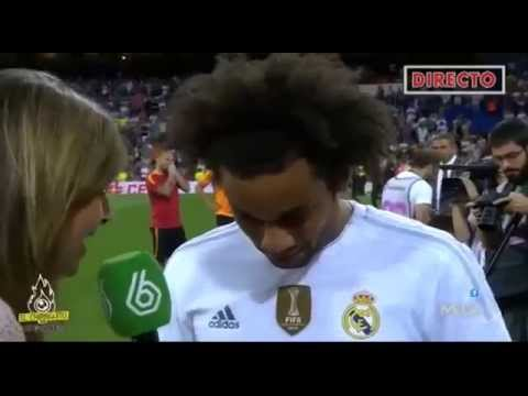 Cristiano Ronaldo and James Rodriguez Funny Moment on Marcelo interview
