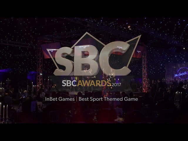 Inbet Games wins SBC Awards 2017 for Best Sports Themed Game