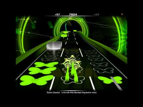In The Hall of the Mountain King (Techno Remix) in AudioSurf