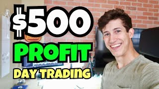 Made $500 Profit Day Trading A Simple Pattern | 2018