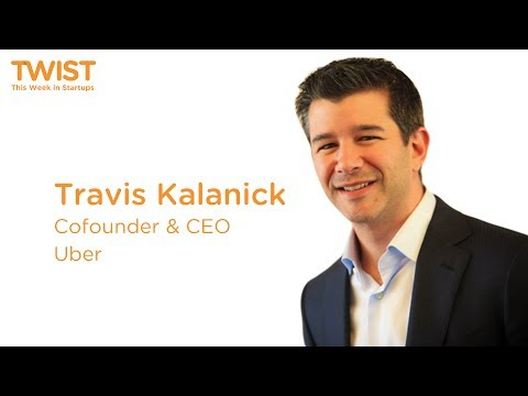 Uber's Travis Kalanick and Jason Calacanis at LAUNCH Festival 2014