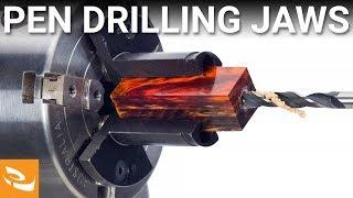 Vicmarc Pen Blank Drilling Jaws