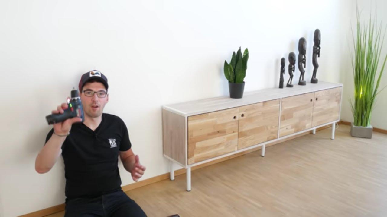 Sideboard Selber Bauen Mit Mr Handwerk Bauhaus Youtube