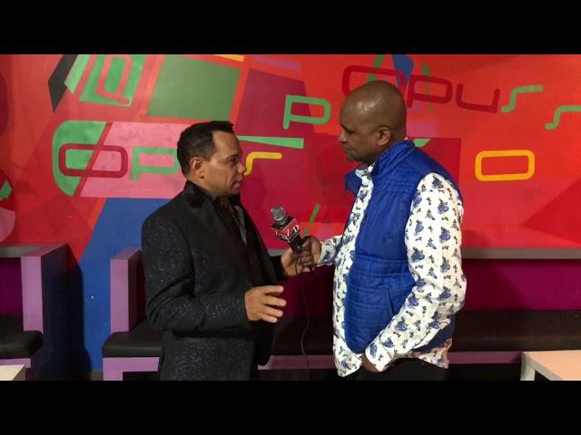 Joe Veras hablando de Bachata en Al Día TV Más