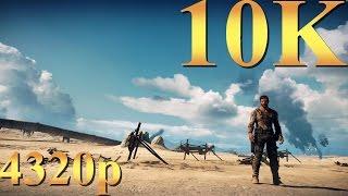 Mad Max 10K 10240x5760 4320p Gameplay Titan X Pascal 3 Way SLI PC Gaming 4K | 5K | 8K and Beyond