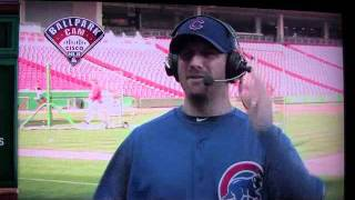 Ryan Dempster as Harry Caray - Calling his First Home Run