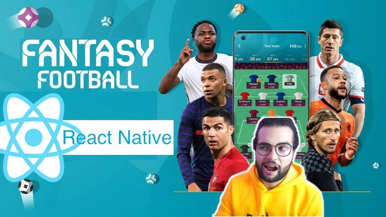 Build the EURO 2020 Fantasy App in React Native & Recoil