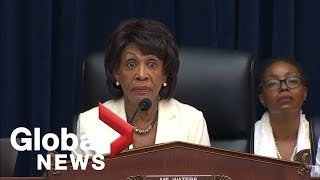 Steve Mnuchin hearing wraps-up on testy note with Maxine Waters &#39If you wish to leave, ...